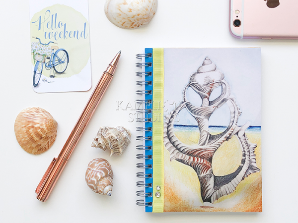 The perfect notebook diary for beach decor lovers