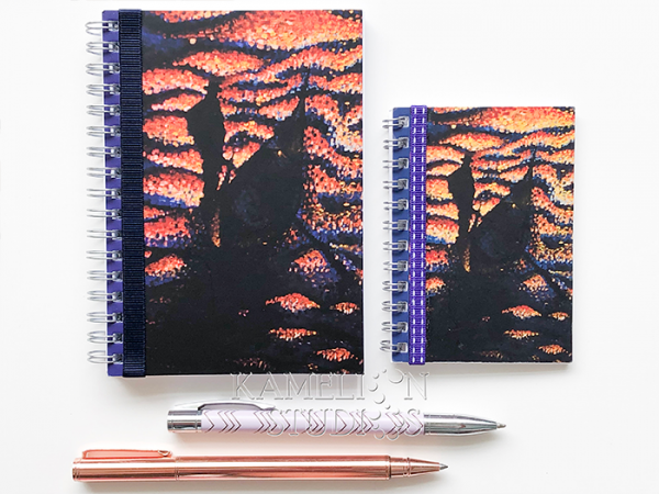 Blank page A5 art journal for creative journaling
