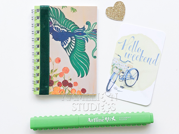 Phoenix notebook by Kamelion Studios