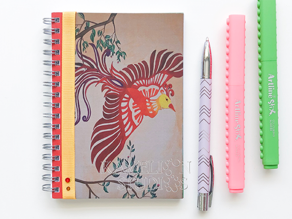 From your daily journal, recipe book, sketchbook, travel journal.