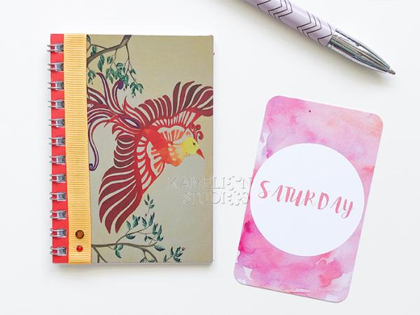 Daily phoenix notebook by Kamelion Studios