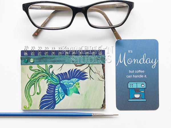 Mini Phoenix journal A7 by Kamelion Studios